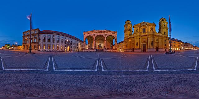 Odeonsplatz, München